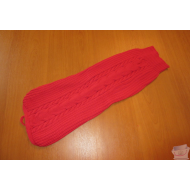 PULL COTELE ROUGE POUR TRES GROS TECKEL STANDARD